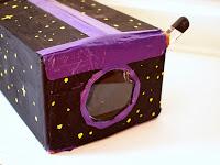 DIY Cardboard iPod Projector