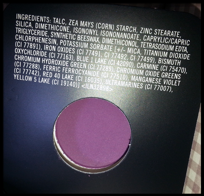 MAC Cosmetics - Fig. 1 Ombretto in Cialda