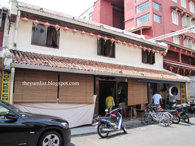 Malacca, Melaka, Hainanese, cafe, Jonker Street