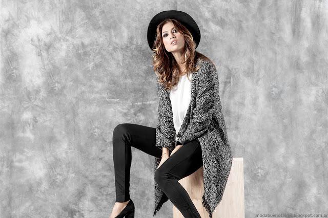 Sacos invierno 2016 moda ropa de mujer Activity colección otoño invierno 2016.