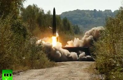 Peluncuran rudal Iskander-M