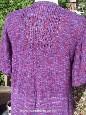 Knitting Plus - Seagirt Pullover back neckline