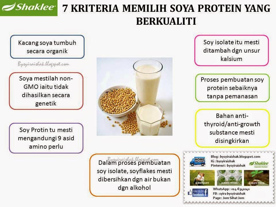 soya protein yang berkualiti
