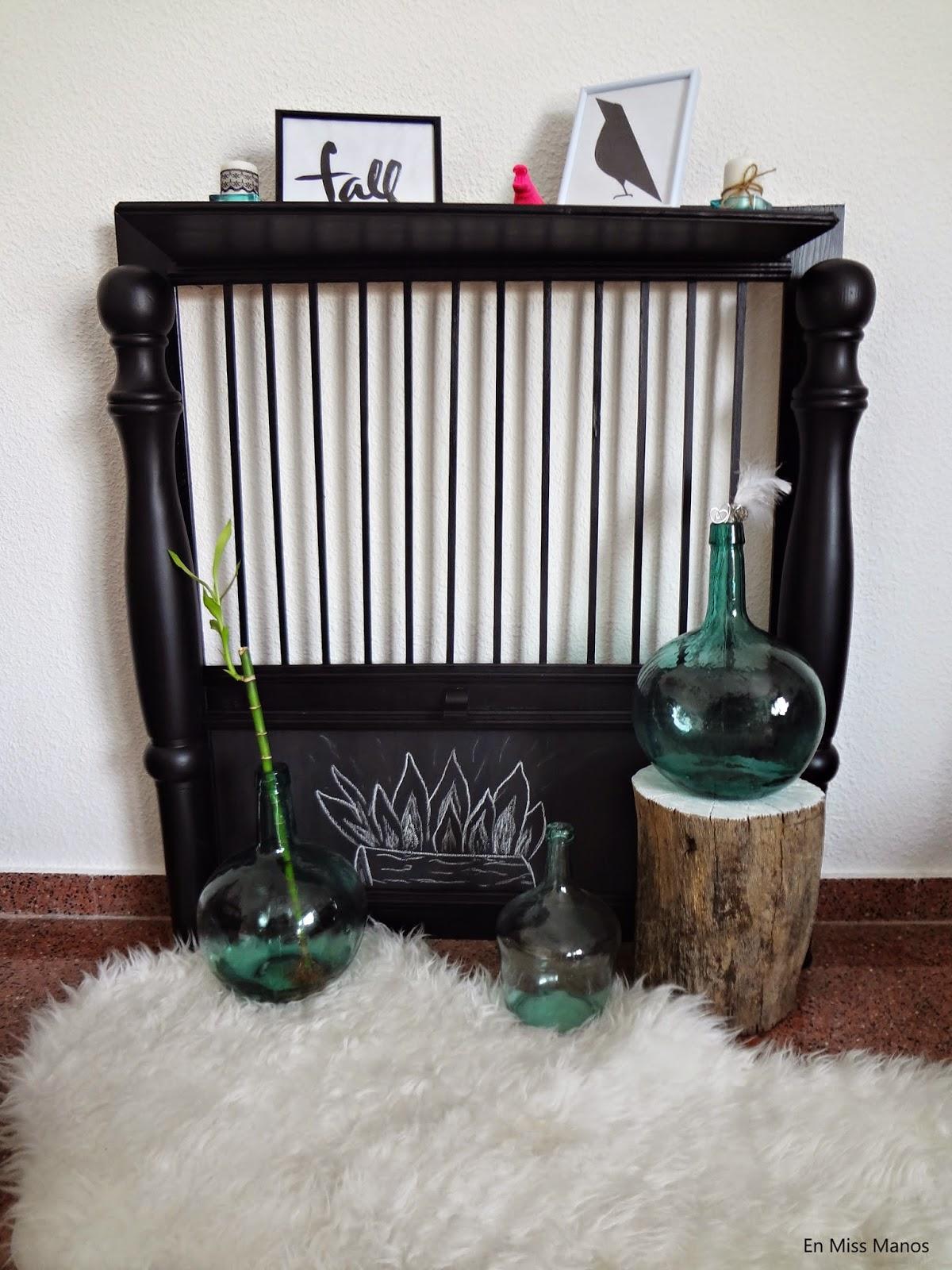 En Miss Manos Chimeneas decorativas DIY
