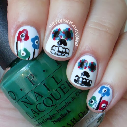 Sugar Skulls and Marimekko Flowers