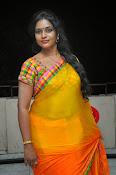 Jayavani glam pics in saree-thumbnail-15