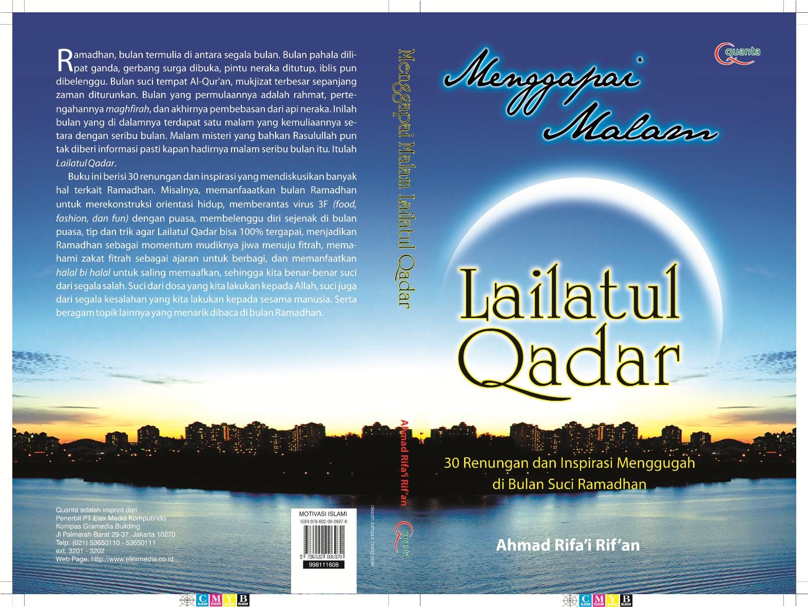 IKADI KOBAR Petuah Imam Ghazali Mencari Lailatul Qadar
