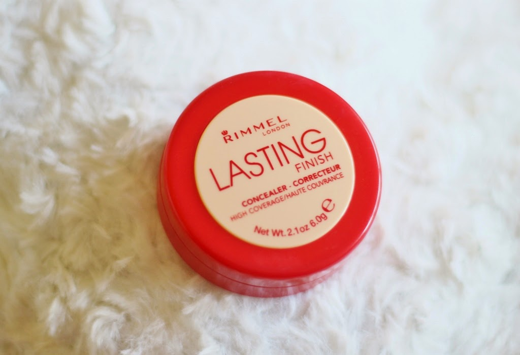 Rimmel lasting finish concealer 030 warm beige review and swatch
