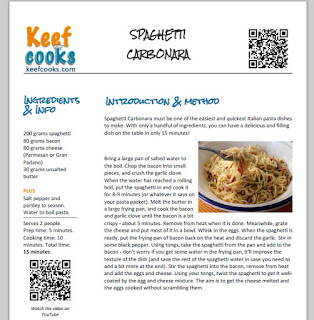 KeefCooks printable recipe
