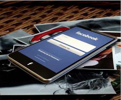 Facebook Mobile Phone Concept