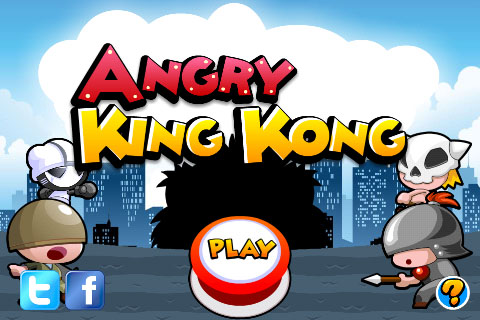 Angry King Kong Free App Game By RenRenGames