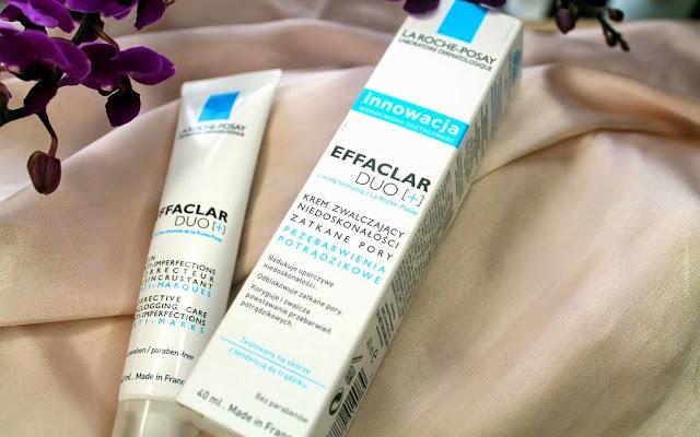 Krem do twarzy z rozszerzonymi porami i zaskórnikami La Roche-Posay, Effaclar duo plus +