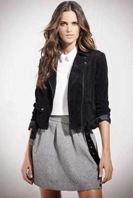 catálogo SuiteBlanco primavera 2014 falda y chaqueta