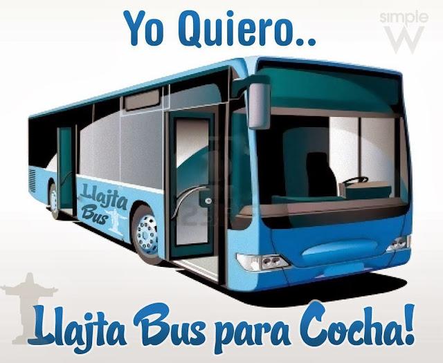 llajta bus - cochabamba bolivia