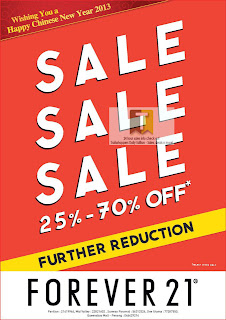 Forever 21 Further Reduction Storewide 2013