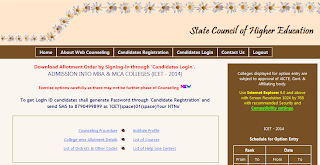 Official ICET Website To Download Allotments, ICET Seat Allotment Orders Download