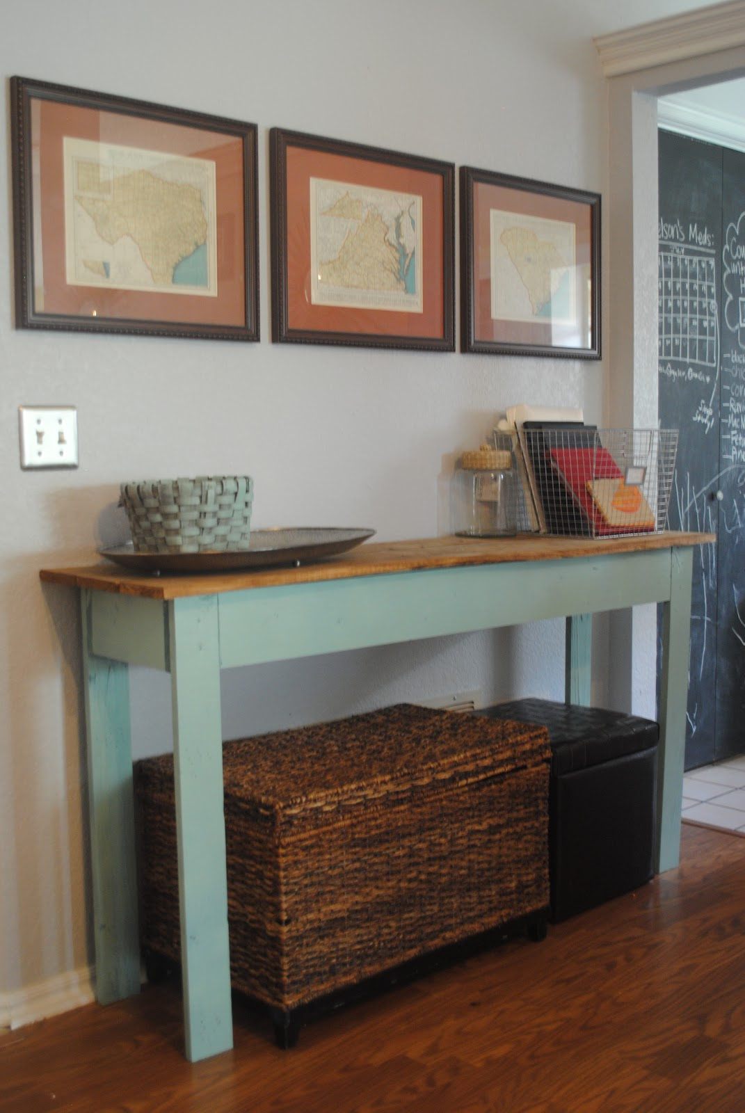 Easy Diy Foyer Table : Life designed diy console table