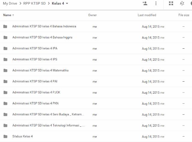 RPP KTSP Berkarakter SD Kelas IV(4) Semester 1 dan 2 Lengkap