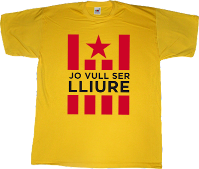 catalonia, catalan freedom independence referendum 11 septembre 11S t-shirt ephemeral-t-shirts