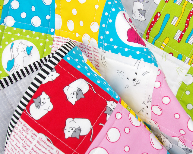 The Cat's Pyjamas Quilt   Red Pepper Quilts 2015