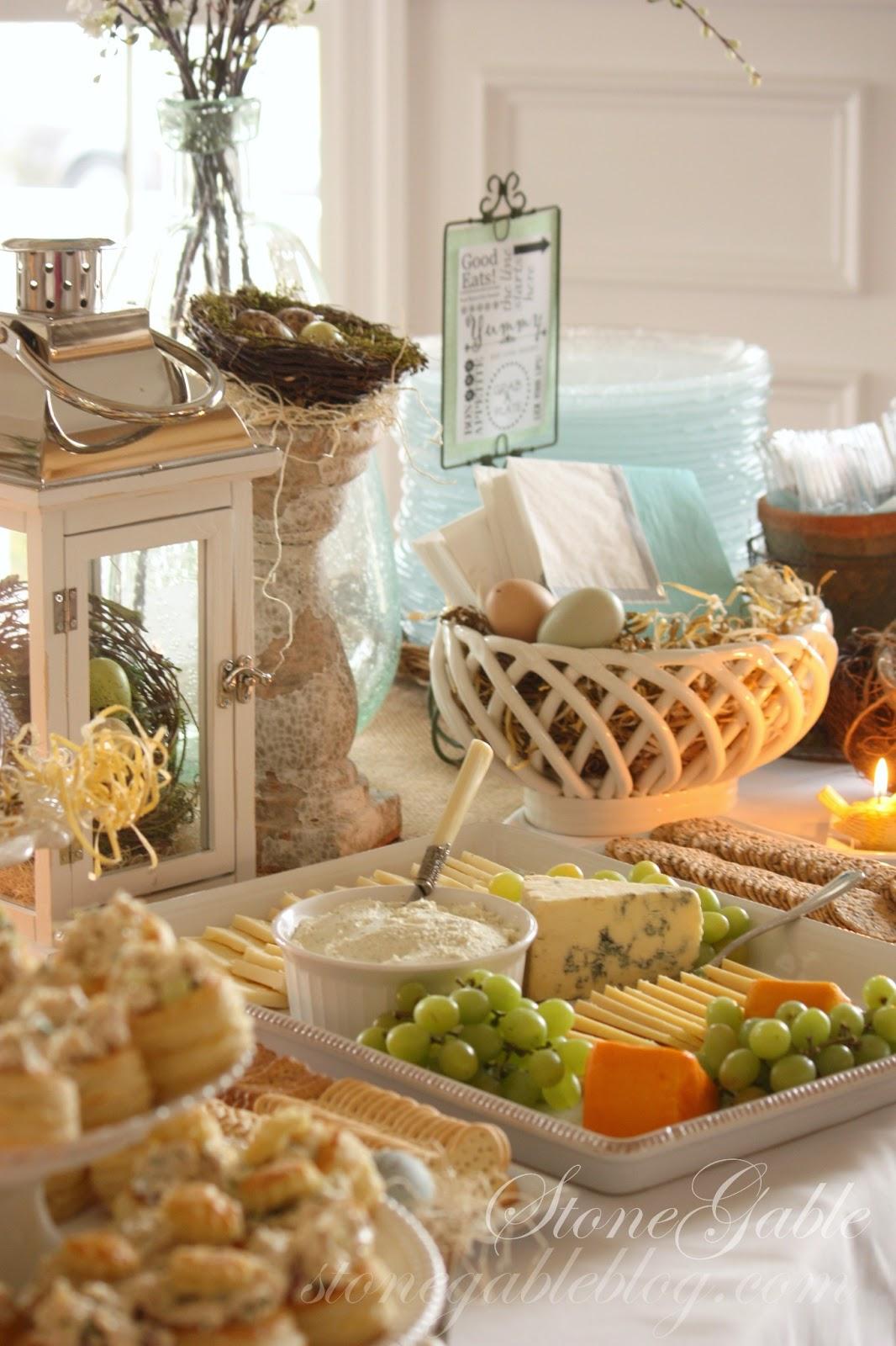 spring bridal shower part ii dessert bar stonegable. Black Bedroom Furniture Sets. Home Design Ideas