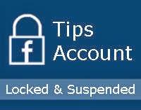 Tips Cara Mambuka Facebook Yang Dikunci Sementara