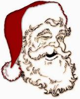Babbo Natale, ritratto