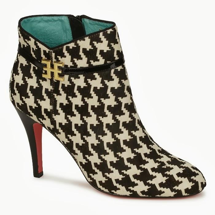 botines pata de gallo