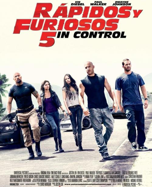 Rapido y Furioso 5: Sin Control [2011] [Dvdrip] [Español Latino]