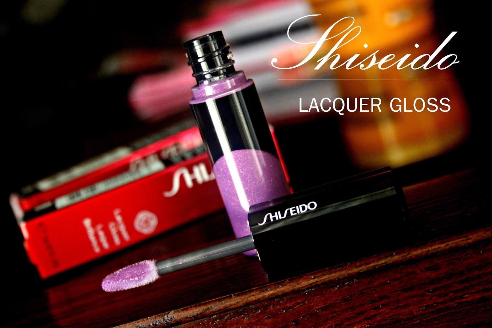 Shiseido Lacquer Gloss in VI207 Nebula