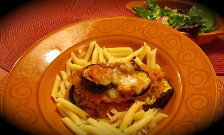 La cuisine de messidor tag s de poulet et d 39 aubergine for Marinade poulet huile d olive
