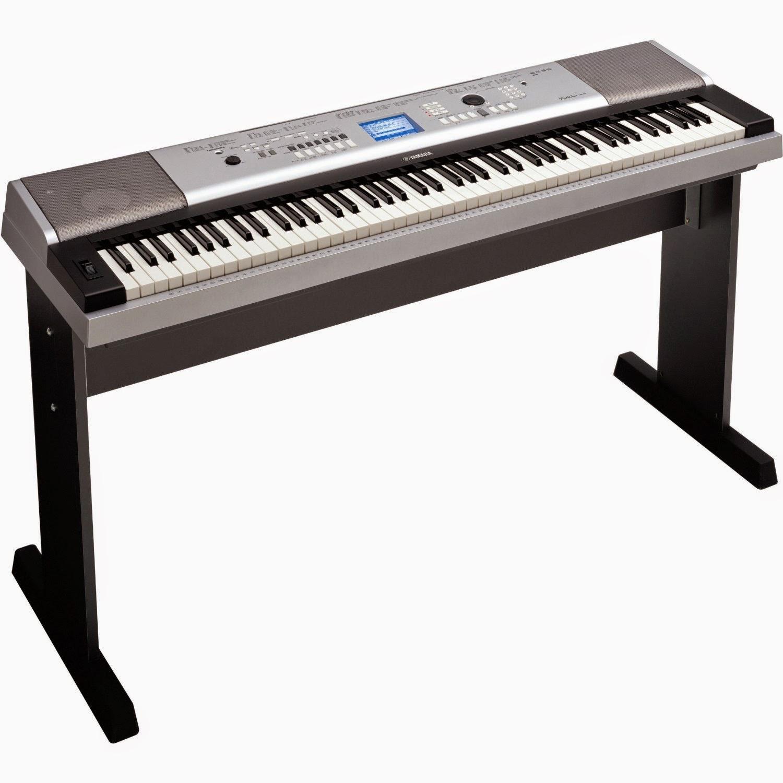 Keyboard DGX-530, Keyboad dengan Sentuhan Lembut