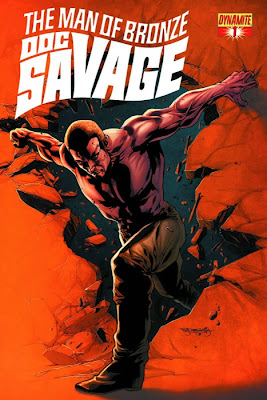 Doc Savage #1b cover from Dynamite Entertainment by Stephen Segovia