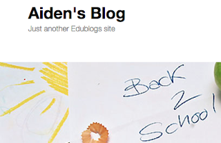 Aidens Blog Homepage