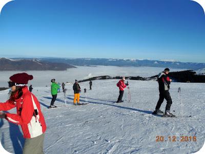 Jurnal de Straja, prima zi la ski