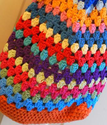 Holland Handmade Granny Stripe Project Bag