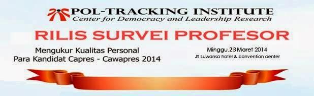 Rilis Survey Profesor oleh Pol-Tracking Institute