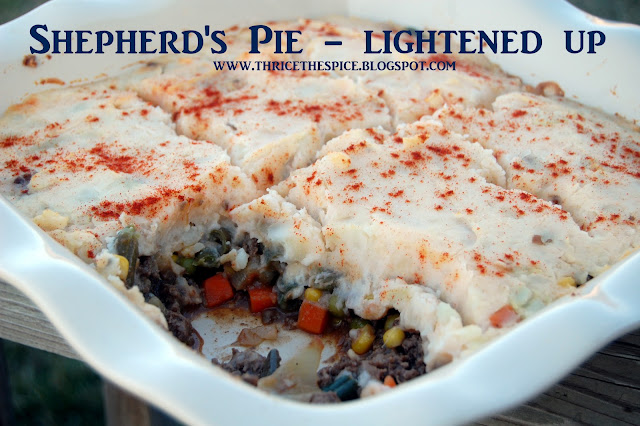 ThriceTheSpice: Shepherd's Pie - Lightened Up!