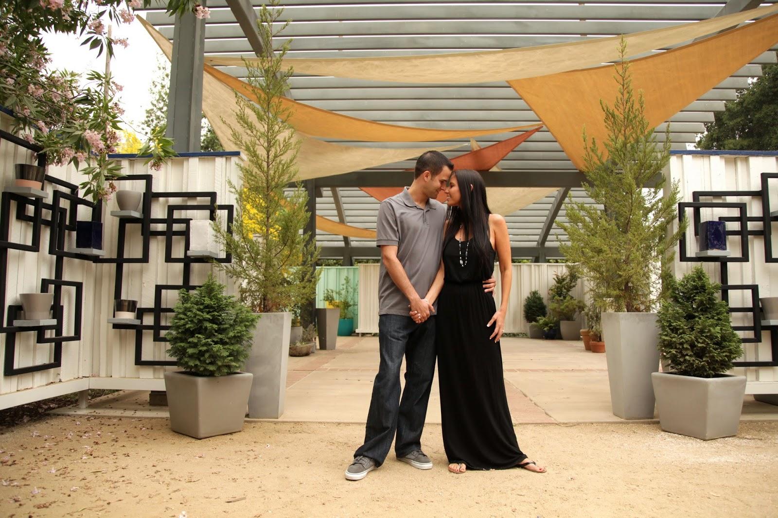 Maile And Sean Engagement At The Rancho Santa Ana Botanical Gardens