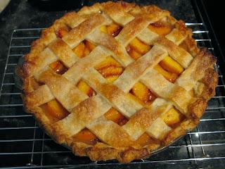 Hannah In The Kitchen Lattice Top Peach Pie