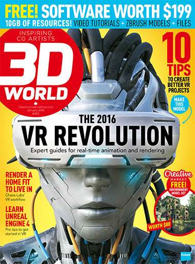 3D World Magazine January 2016