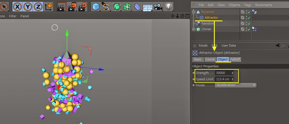 The_Cluster_Effect in C4D 19