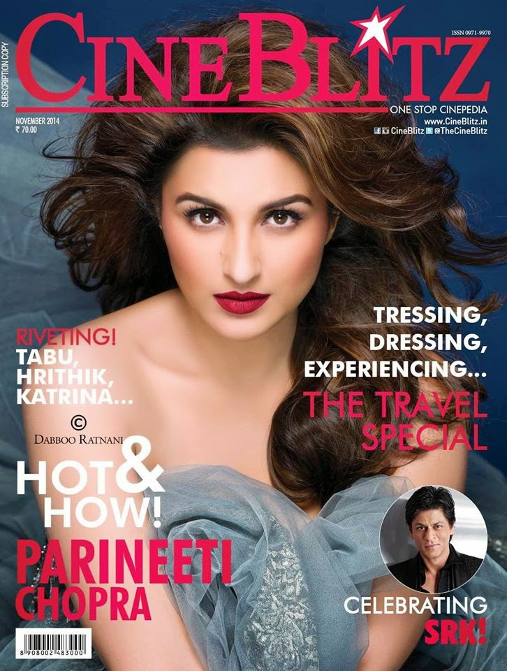 Glamorous Parineeti Chopra For Cine Blitz magazine