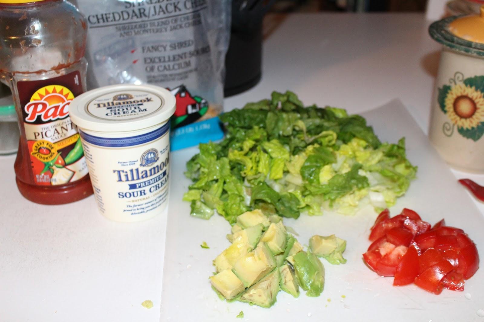 how to make homemade taco salad