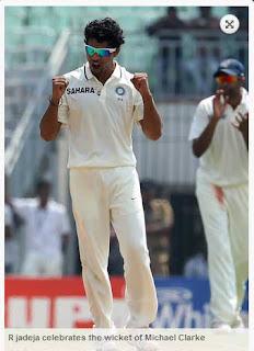 R-jadeja-celebrates-Michael-Clarke-wicket-IND-vs-AUS-1st-Test