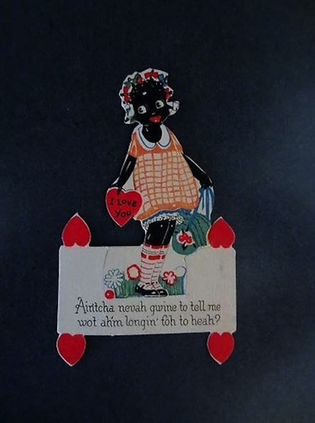 15 unbelievably racist vintage valentine u0026 39 s day cards from
