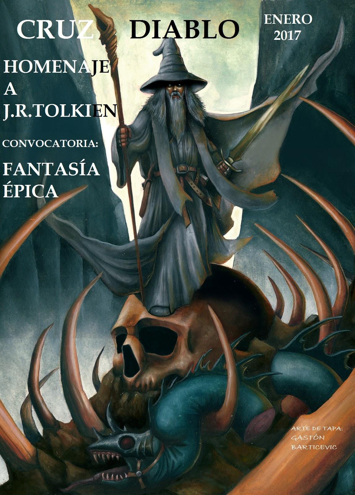 Revista Cruz Diablo Homenaje a Tolkien