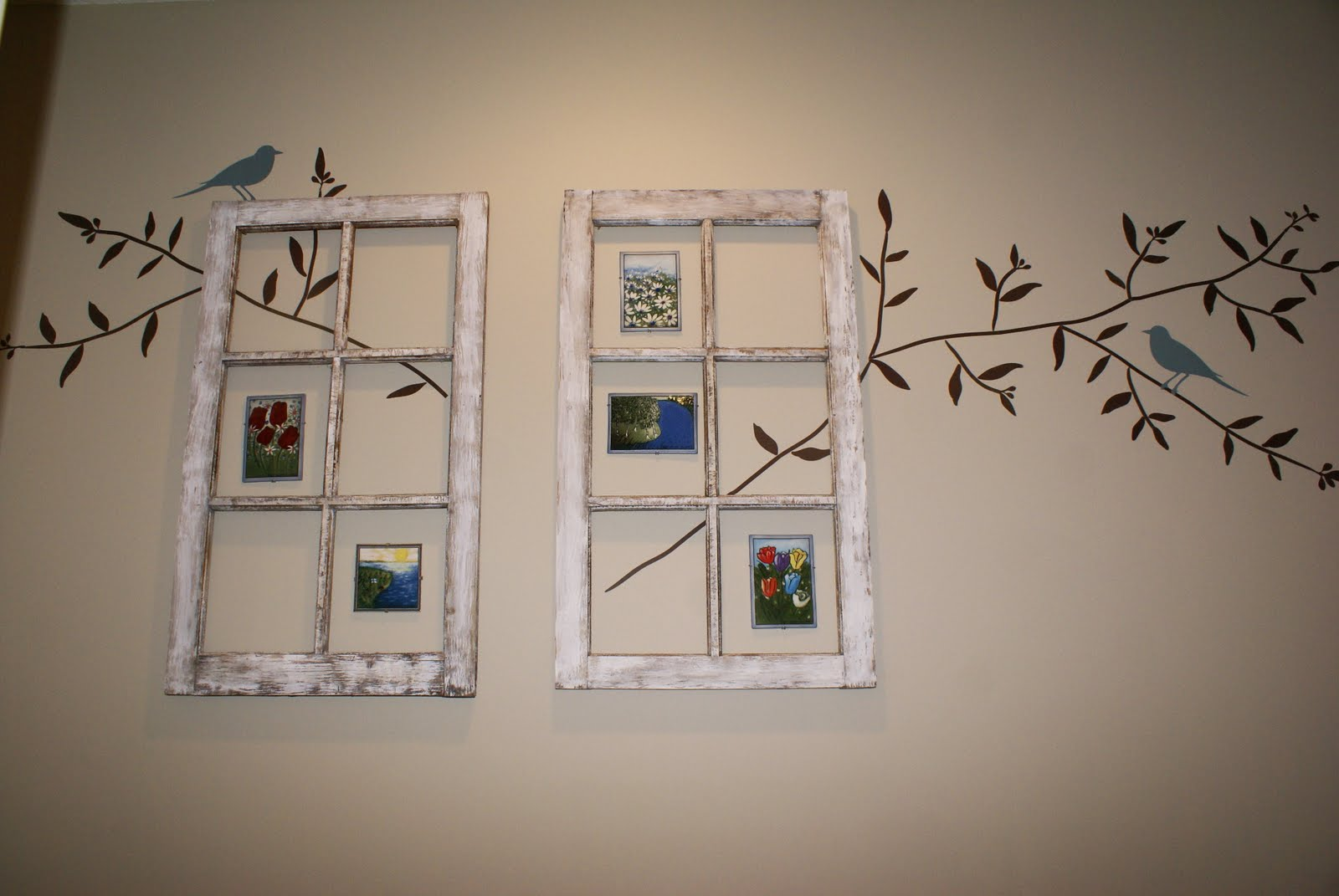 Vintage Windows And How To Decorate Them