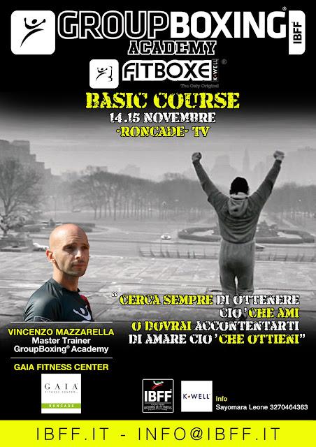 GB® FitBoxe® Basic- Veneto, 14.15 Novembre a Roncade, TV