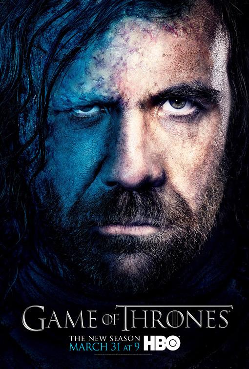 Sandor Clegane poster 3T - Juego de Tronos en los siete reinos